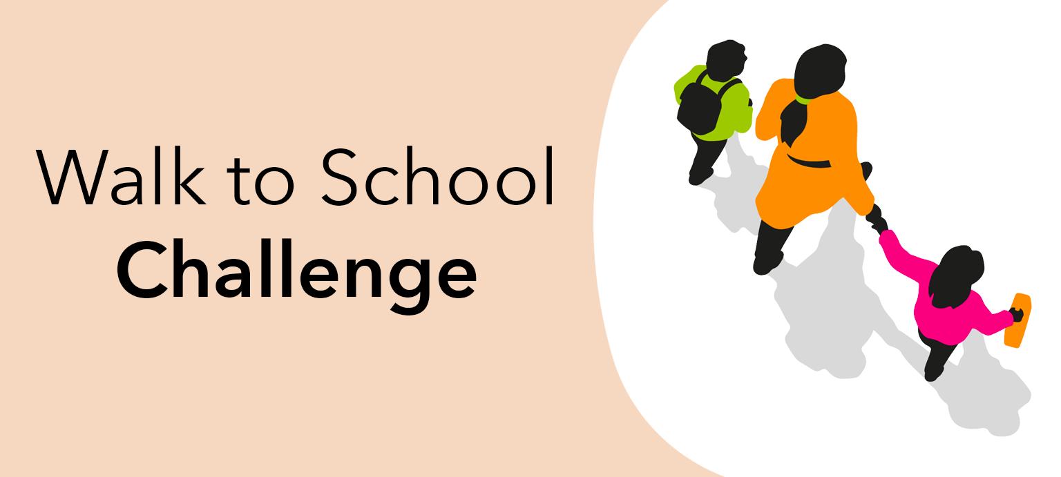Our year round Walk to School Challenge