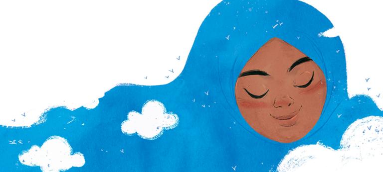 The Proudest Blue - Illustration: Hatem Aly